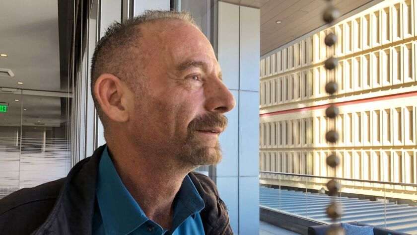 Timothy Ray Brown, seen on Monday in Seattle, was the first person to be cured of HIV infection, more than a decade ago. Now researchers are reporting a second patient has lived 18 months after stopping HIV treatment without sign of the virus following a stem cell transplant.