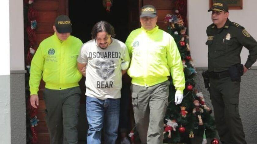 Juan Carlos Mesa, alias Tom, el narco por el que Estados Unidos ofrecía US$2 millones, fue capturado este sábado mientras festejaba su fecha de nacimiento en una finca en el municipio de El Peñol, en el departamento de Antioquia.