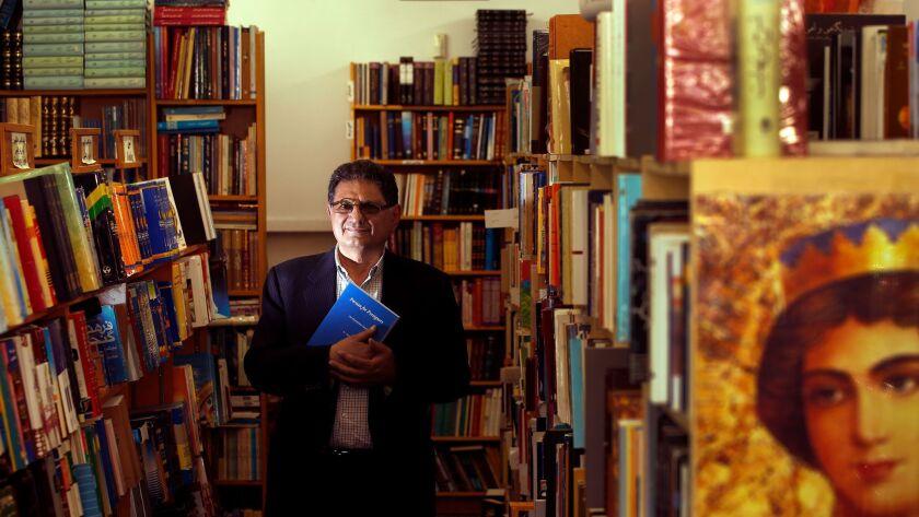 Owner Bijan Khalili in his Ketab Corp. bookstore in 2015.