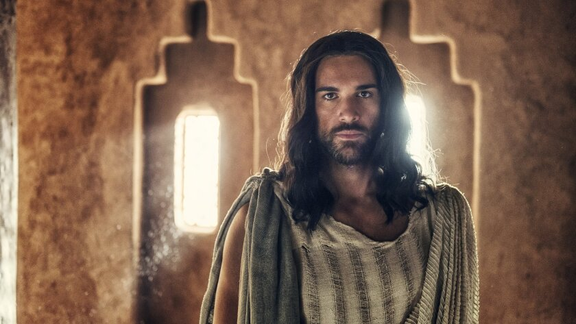 """""""A.D. The Bible Continues,"""" with Juan Pablo Di Pace as Jesus, has a political thriller feel."""