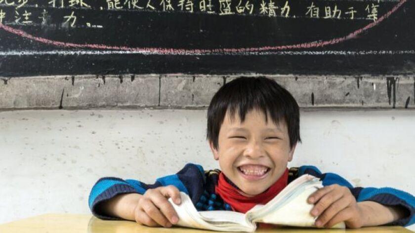 """El Departamento de Educación de Shunging explicó que el examen tenía la intención de """"evaluar... la conciencia crítica y la habilidad para pensar con independencia""""."""