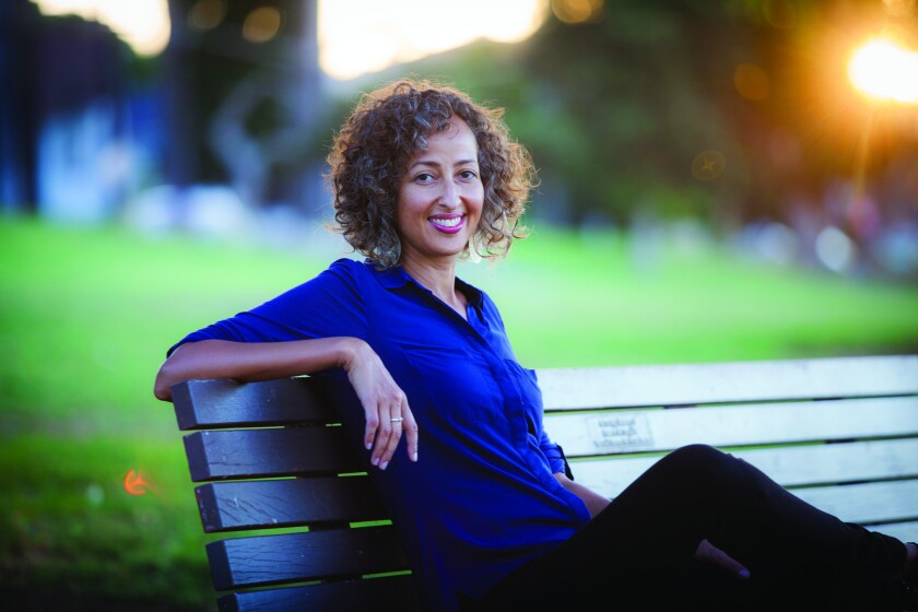 "Sofia Samatar, author of ""The Winged Histories"" from Small Beer Press."