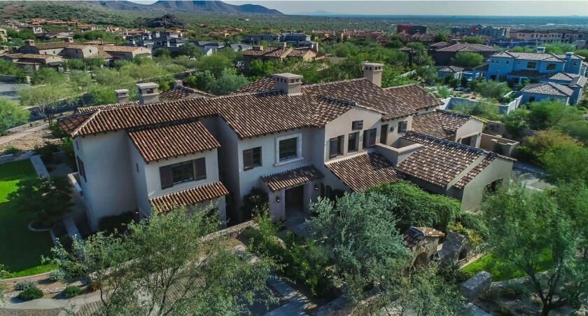 Mark Ellis's Arizona mansion