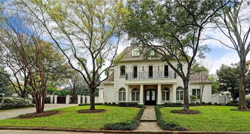 Leslie Alexander's Houston home