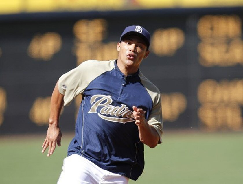 Shortstop Everth Cabrera during the 2010 season.