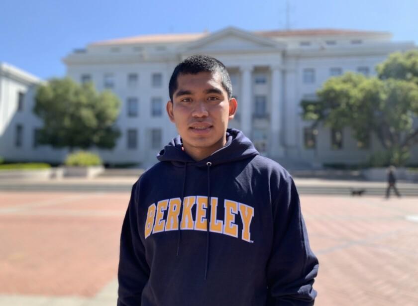 Edwin Vargas Navarro, $20,000 Liss Family Scholarship recipient