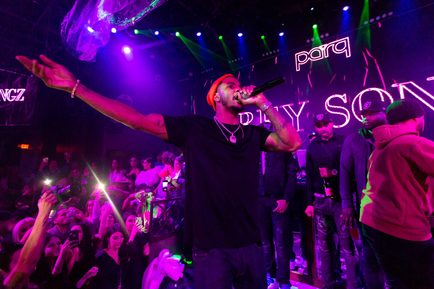 Parq's Fifth Anniversary with Saweetie and Trey Songz