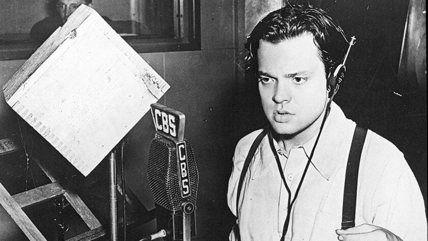 Hemingway said unprintable things about Orson Welles' original narration and decided to record it hi