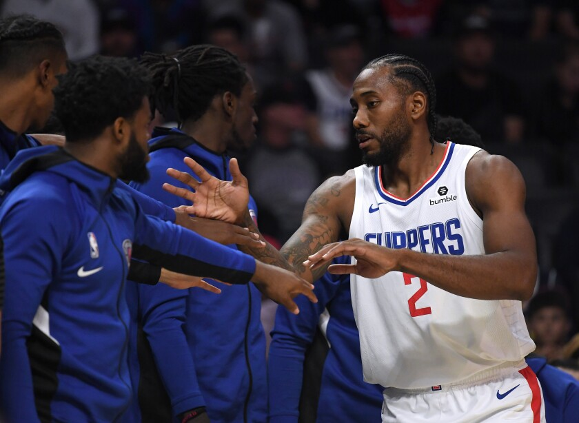 Kawhi Leonard Anthony Davis Ready For Clippers Lakers