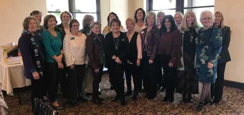 """The Bonsall Woman's Club holds its annual luncheon/fashion show from 11 a.m. to 3 p.m. May 10 at the Vista Valley Country Club. The theme is """"A Fashion Fantasy."""" Club members will model clothing from Aston's Boutique in Bonsall. Local DJ, Cory Carrier will provide music. There will be a silent auction and raffle baskets. Lunch features Vista Valley Pear Salad, with Grilled Chicken, Asian Pears and dessert. Pictured are members of the luncheon/fashion show committee. Cost is $55; proceeds benefit local charities and high school scholarships. Reserve by May 2 at R. Scheuer, 29413 Integrity Ct., Vista, CA 92084-2231; call (760) 639-0942. Visit bonsallwomansclub.org."""