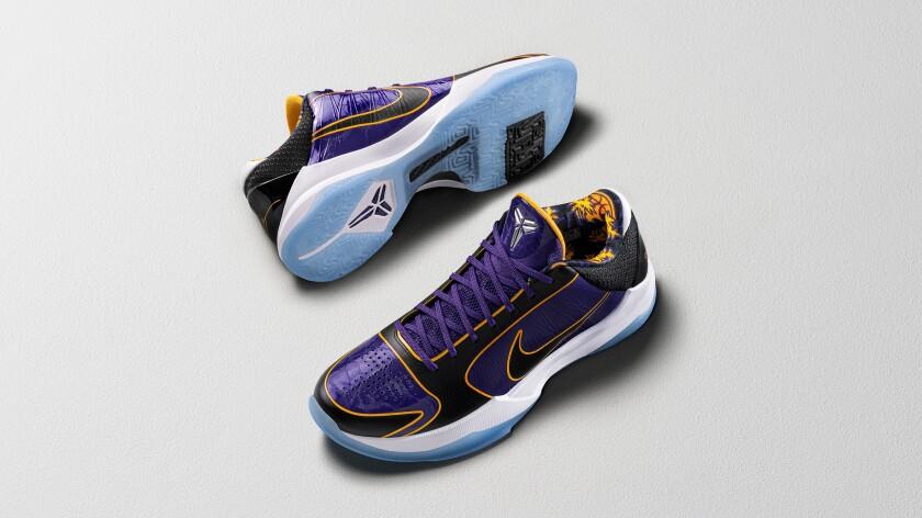 The Kobe V Protro 5X Champ sneaker