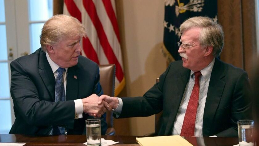 Trump administration sues to stop release of John Bolton book ...