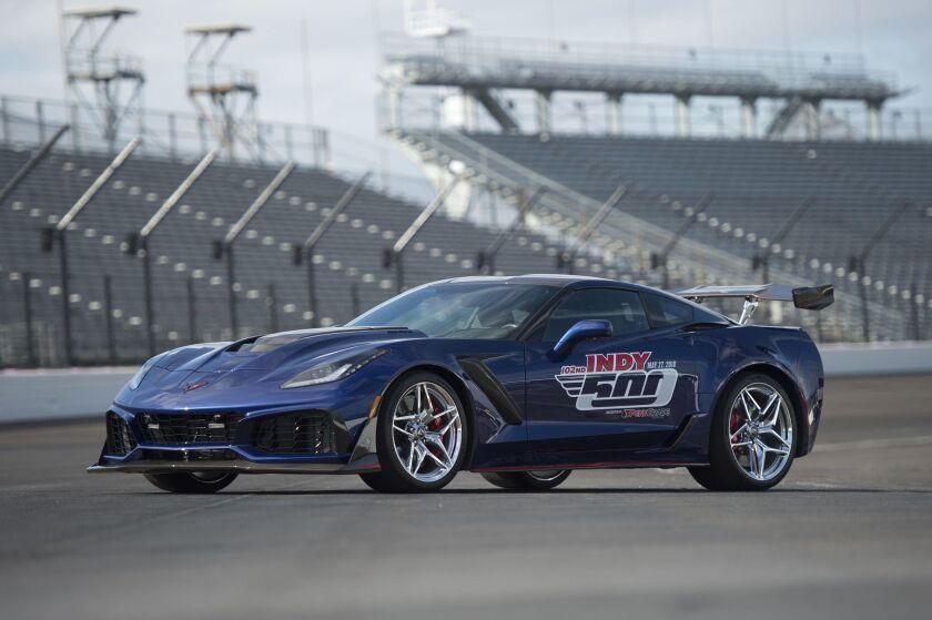 El Corvette ZR1.
