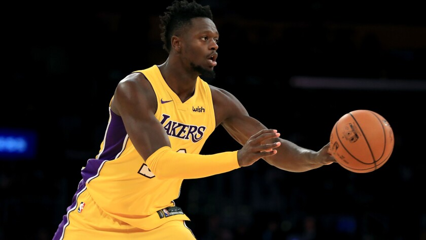 Lakers' Julius Randle has transformed his body and he hopes