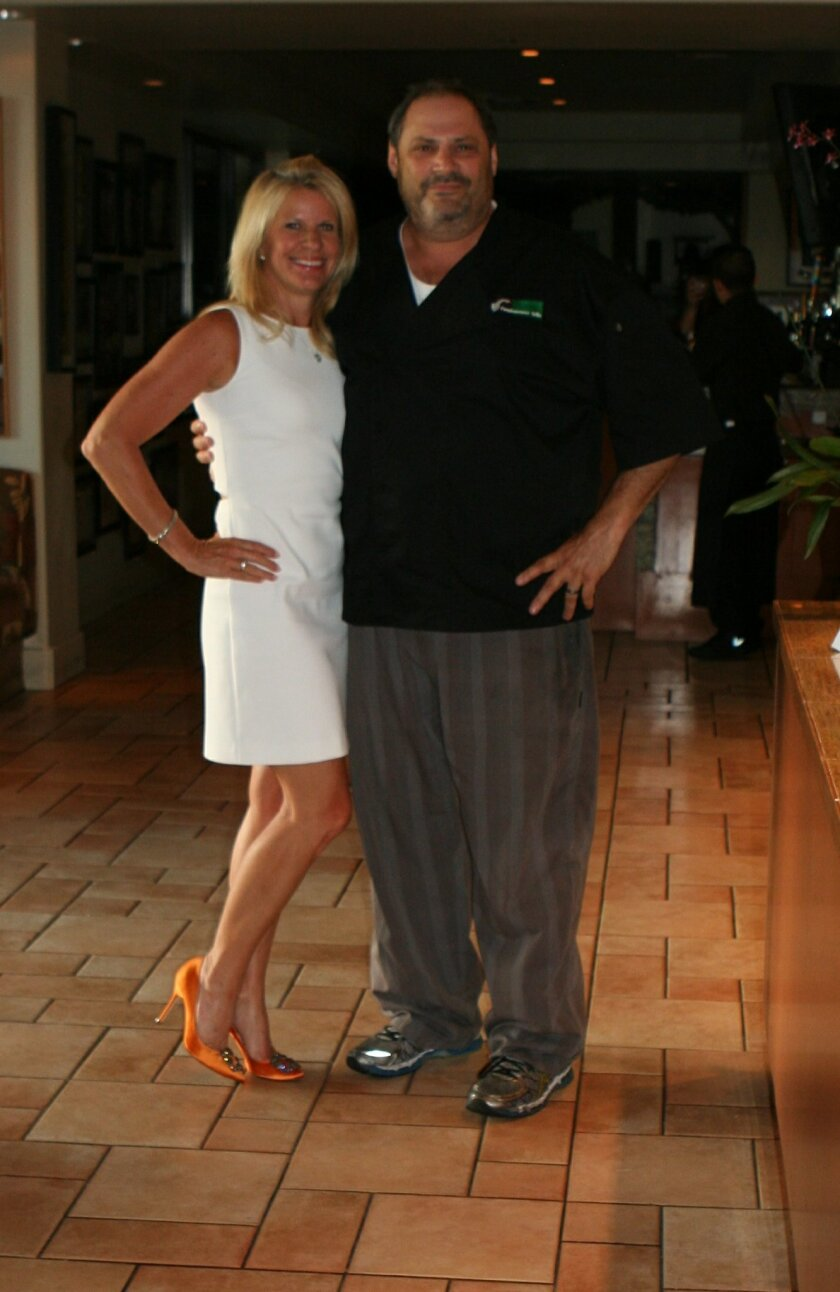 Encinitas resident Jaye Connolly-LaBelle and Jeffrey Strauss.