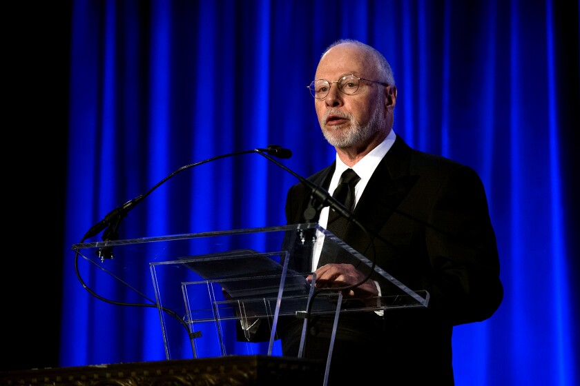 Paul Singer, founder and chief executive of hedge fund Elliott Management Corp.