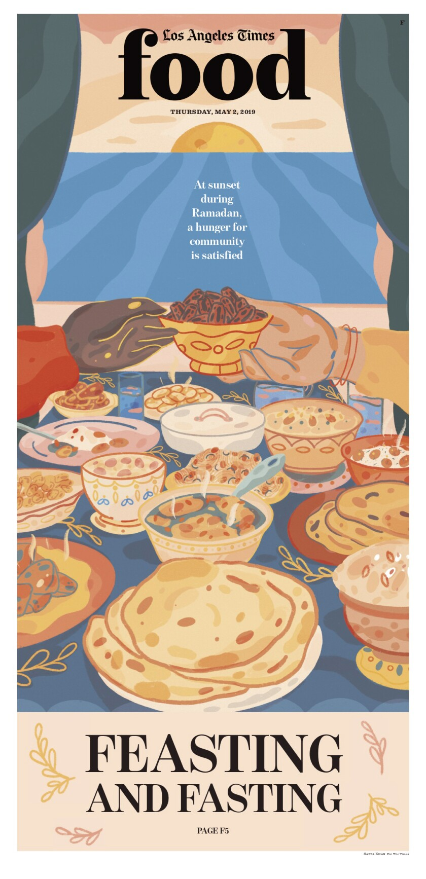 Los Angeles Times Food cover, May 2, 2019