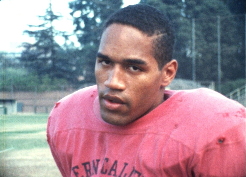 O.J. Simpson as a running back at USC.