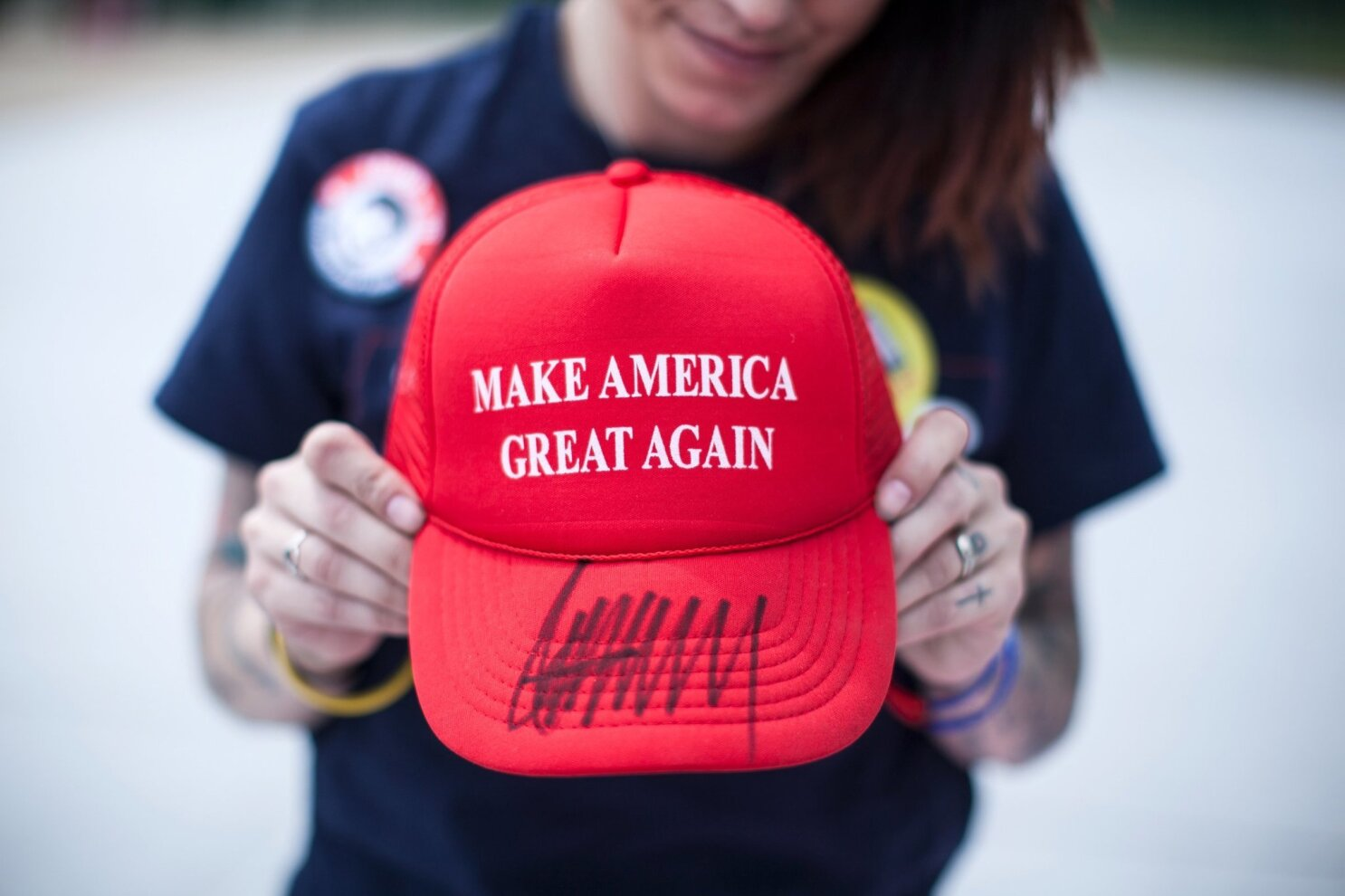 beeefd1615d69 Hats off to all you  Make America Great Again  satirists - The San Diego  Union-Tribune