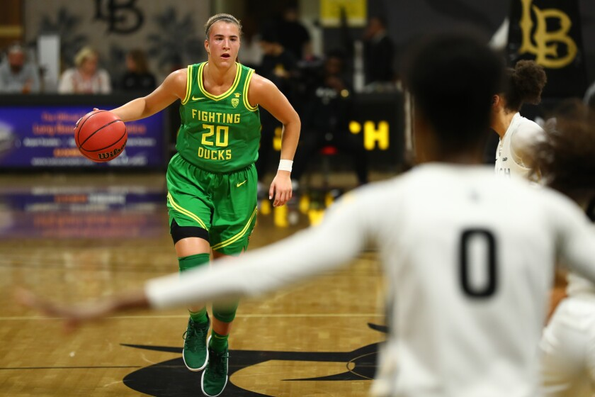Oregon star Sabrina Ionescu has played a big role in helping the Ducks morph into one of the NCAA's elite teams.
