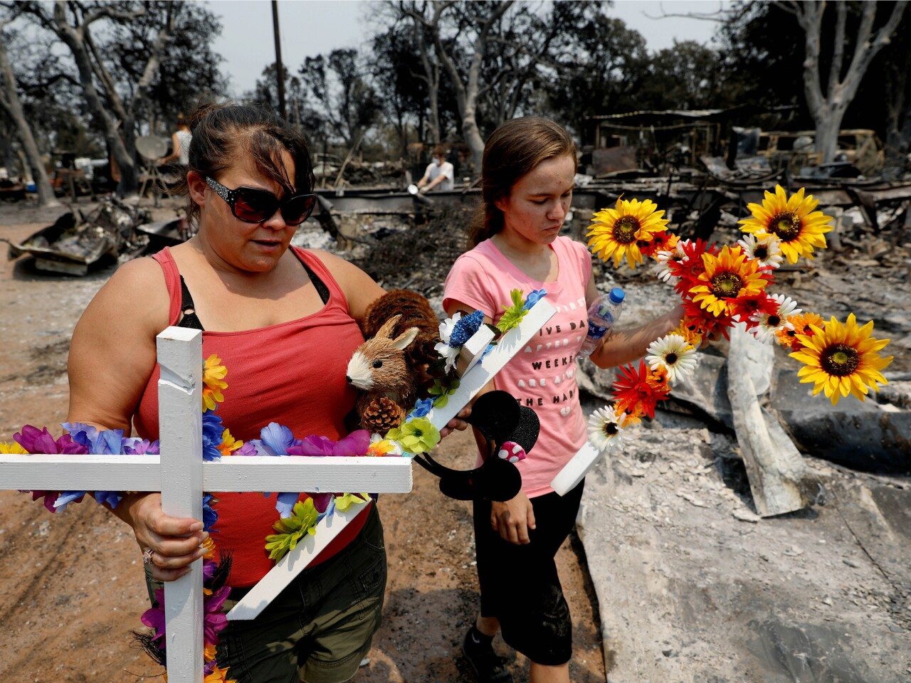 Family loss in Carr fire