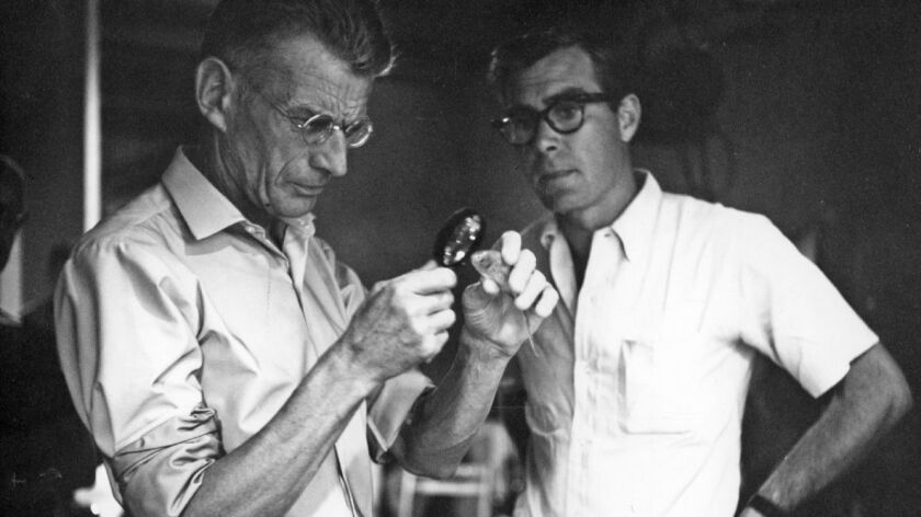 Samuel Beckett in Notfilm (2015) Milestone Film
