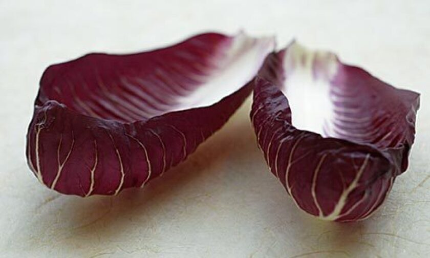 GRILL IT: Radicchio can turn almost caramel sweet.