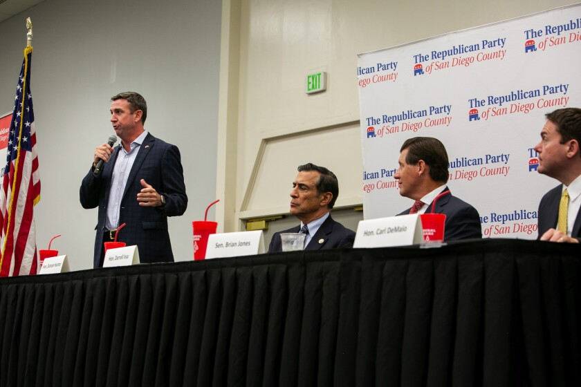 Republicans fail to endorse a candidate for 50th Congressional District