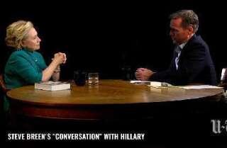 "Steve Breen's ""conversation"" with Hillary Clinton"