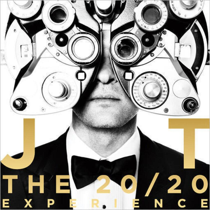 """Justin Timberlake's latest album, """"The 20/20 Experience."""""""
