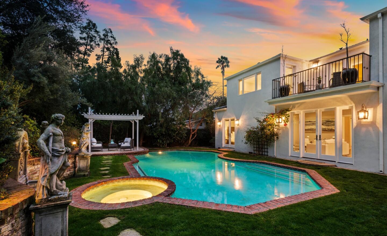 Jack Palance's former Beverly Hills home