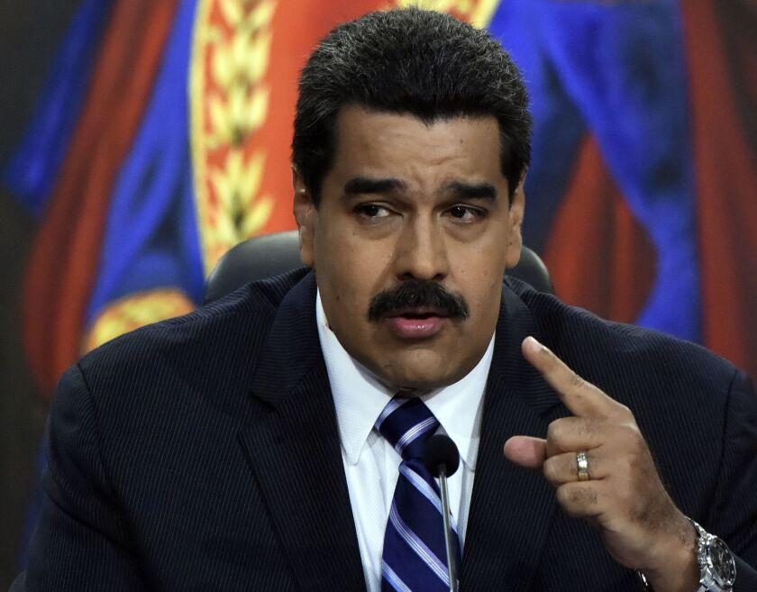 El presidente Nicolas Maduro. AFP PHOTO/JUAN BARRETOJUAN BARRETO/AFP/Getty Images