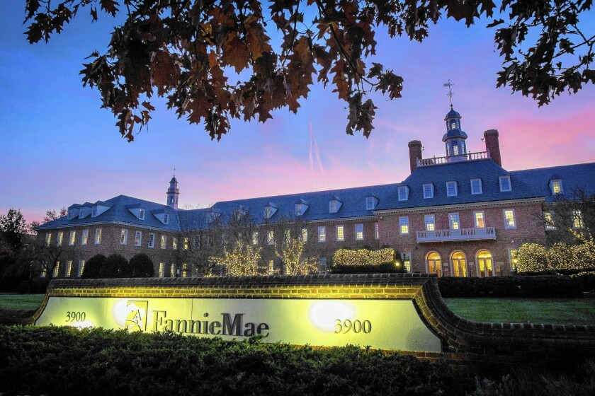 Mortgage company Fannie Mae, based in Washington, D.C., reported that it earned $3.7 billion in the second quarter.