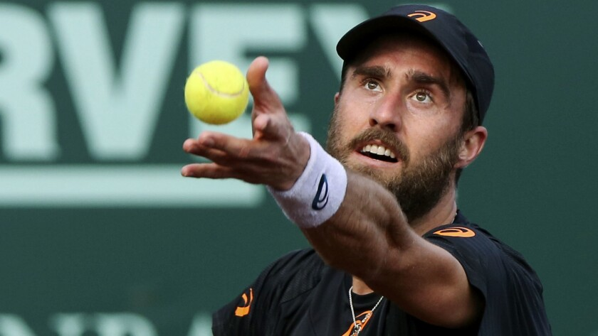 Steve Johnson won the U.S. Men's Clay Court Championship on Sunday for his second ATP title.