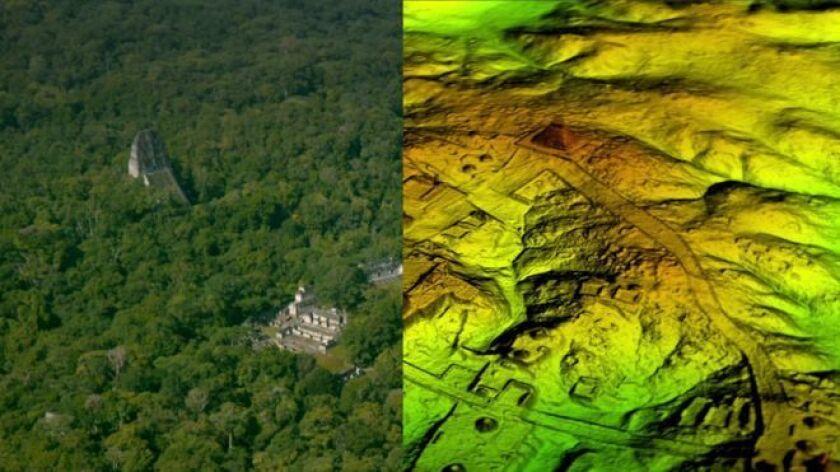 Descrito como un importante descubrimiento arqueológico, para la investigación se utilizó tecnología de escaneo láser para analizar digitalmente debajo del dosel forestal.