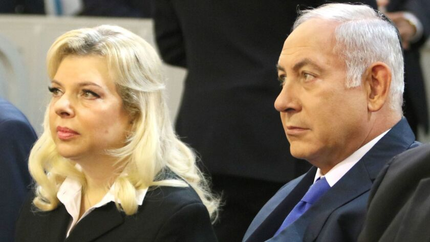 Sara Netanyahu, wife of Israel's prime minister, is under investigation for  bribery - Los Angeles Times