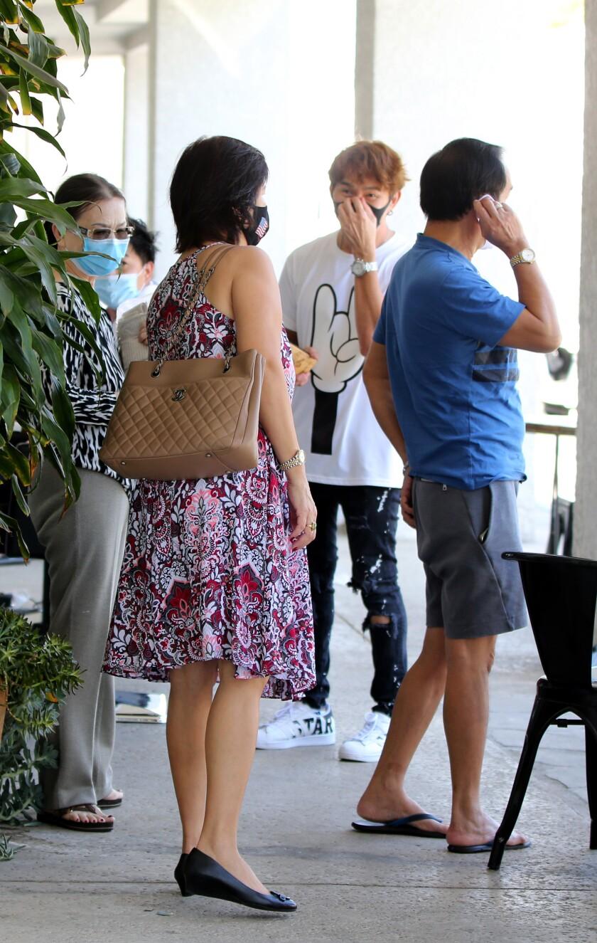 Travis Vu turns away walk-up clients because he has a full schedule outside TravisVu The Salon.