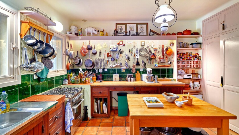 The former vacation home of Julia Child in Provence, France