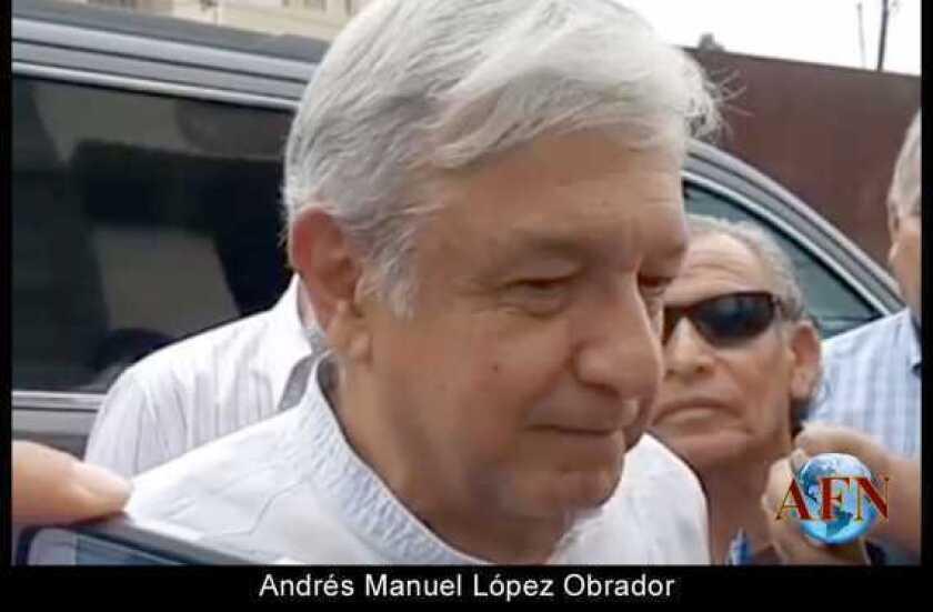 """La tercera es la vencida"": AMLO"