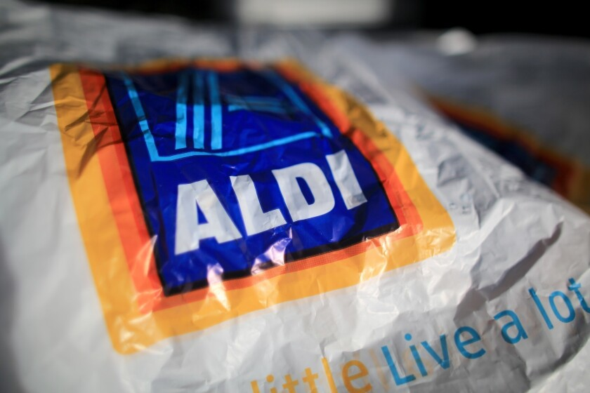 Budget supermarket Aldi plans to open its regional headquarters and a distribution center in Moreno Valley, Calif. In the next five years, the chain says, it will open 650 new stores across the U.S.