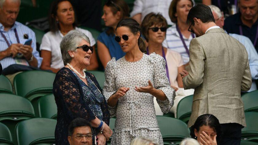 Wimbledon Championships, United Kingdom - 13 Jul 2018