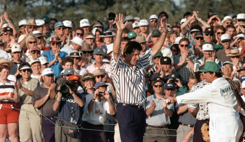 AP Was There 1996 Masters Golf