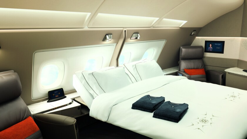 Singapore Airlines A380.