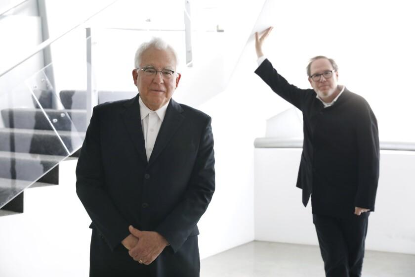 Ron Yerxa, left, and Albert Berger