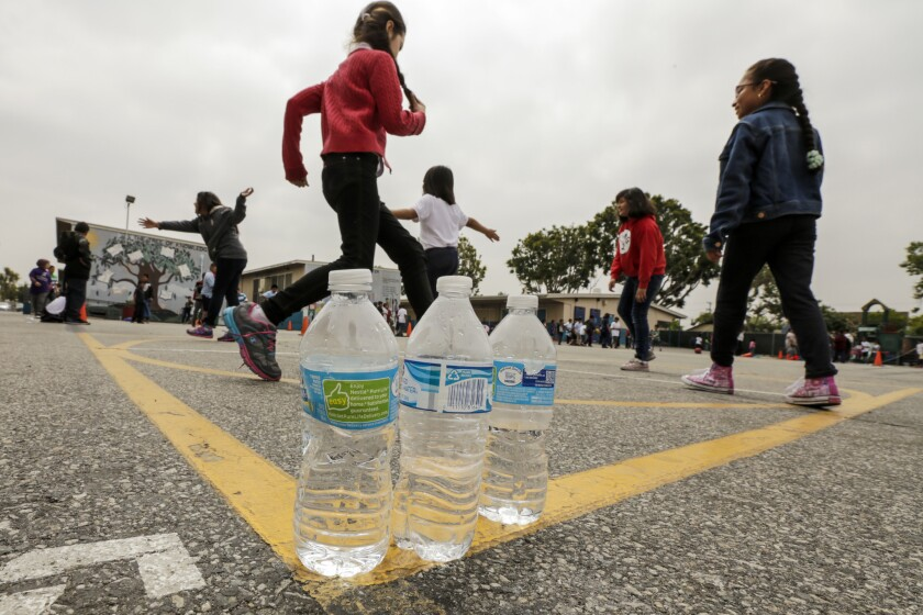 Cloudy water reported at South L.A. schools