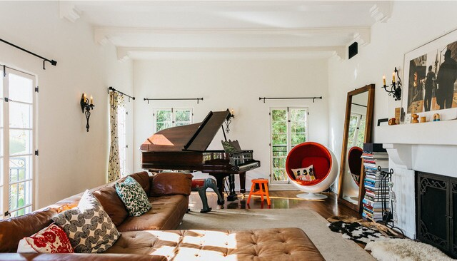 Fran Healy's Hollywood Hills home