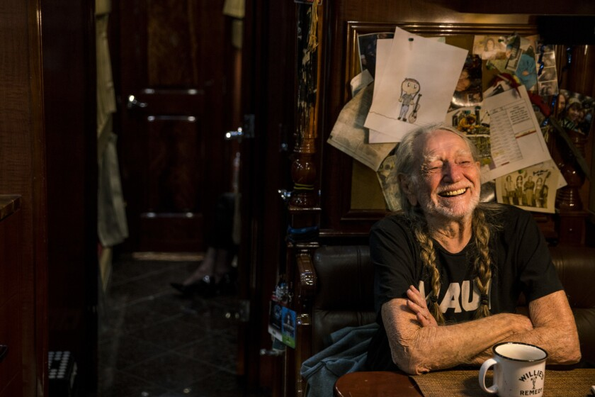HOLLYWOOD, CALIF. - OCTOBER 22: Singer, songwriter, and musician Willie Nelson, photographed during