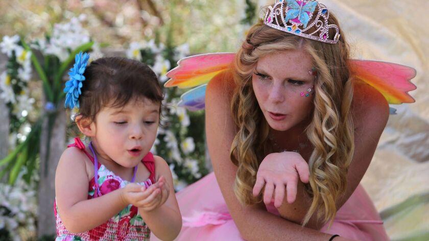 The Fairy Festival at San Diego Botanic Garden.