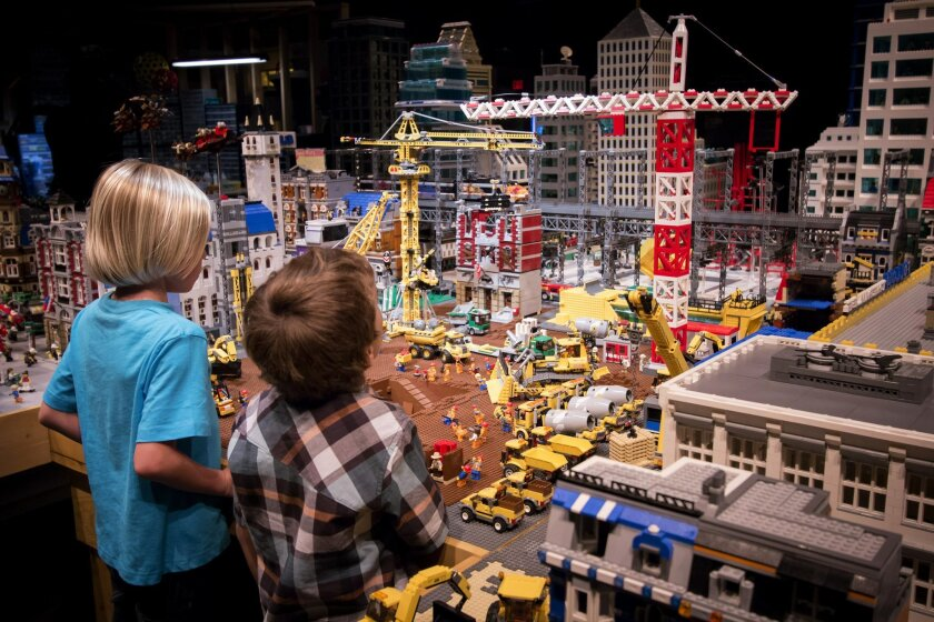 The original set for The Lego Movie was dismantled and reconfigured for Legoland visitors to see first-hand.