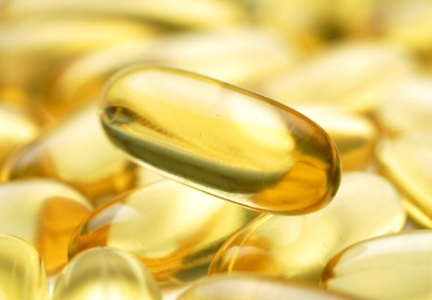 Fish oil gels. Low levels of DHA have been linked to military suicides.